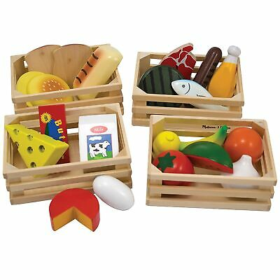 Melissa And Doug Food Groups - Wooden Play Food - For Age 3+ Child Kids • 16.16£