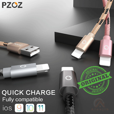 $3.49 • Buy Original PZOZ Cable For  IPhone 5s 6 7 8 Fast Charger Adapter 8 Pin USB Cable