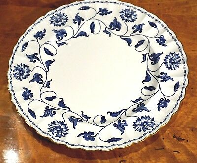 Beautiful Spode Colonel Blue Lunch Plate • 34.95£