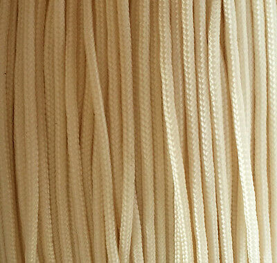 1.2mm Roman Blind Cord Festoon Curtain String Strong Polyester Ivory - Cream • 2.79£
