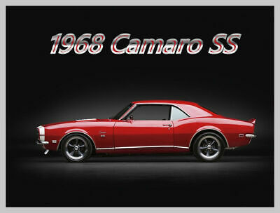 $4.99 • Buy 1968 Chevrolet CAMARO SS Coupe, Refrigerator Magnet, 40 MIL