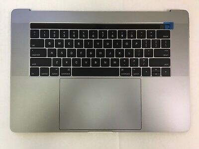 $179.98 • Buy MacBook Pro A1707 15  2016 Top Case Battery Keyboard Trackpad Touch Bar Grey A