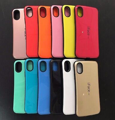 IFace Shockproof Bumper Cover Case Skin For IPhone X Xs 10 USA Seller • 6.95£