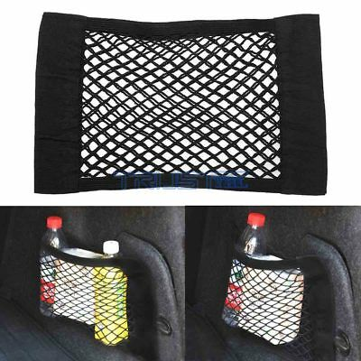 $6.49 • Buy Auto Car Seat Side Back Storage Net Bag Phone Holder Pocket Organizer Accessory