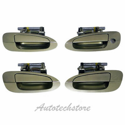 $83.30 • Buy For 02 03-06 NISSAN ALTIMA Set 4pcs Outside Door Handle EY1 Champagne Gold DS244