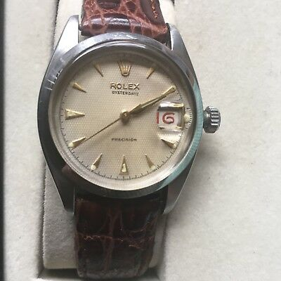 $ CDN3847.21 • Buy 1964 Vintage Rolex Oysterdate Precision (Red Date)