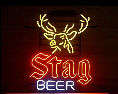 £87.78 • Buy New Stag Beer Bar Neon Light Sign 17 X14