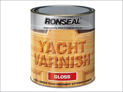 Ronseal - Exterior Yacht Varnish Gloss 500ml • 22.70£