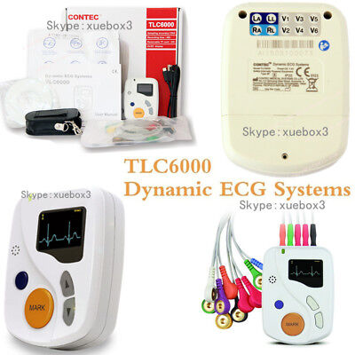 £384 • Buy CE 12 Channel ECG EKG Holter,48 Hours Heart Rate Monitoring, Free Software OLED