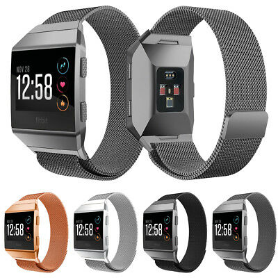 $ CDN17.12 • Buy Milanese Loop Stainless Steel Watch Band Strap For Fitbit Ionic - Large Size