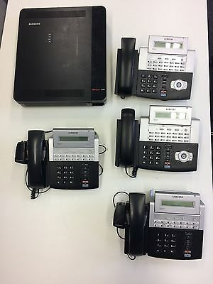 £450 • Buy Samsung OfficServ 7030 Phone System With 4 Samsung Phones