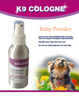 K9 Cologne - Dog Cologne - Aftershave - Perfume Deodorant 125ml Spray- Xmas Gift • 9.50£