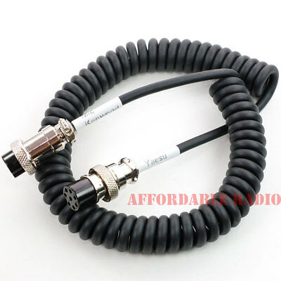 AU39.29 • Buy Kenwood MC-60 MC-90 Microphone Cable Fit To Yaesu FT-1000 FT-950 FT-2000 FT-990