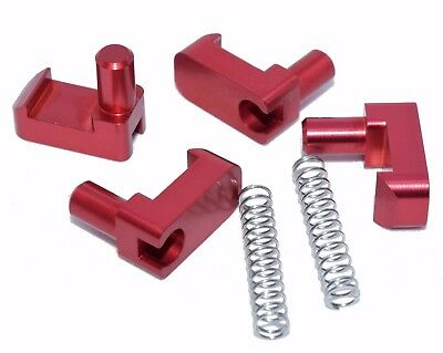 AU32.28 • Buy Billet Aluminum Geo Tracker/Suzuki Sidekick Soft Top Roof Latch Clips W/ Springs