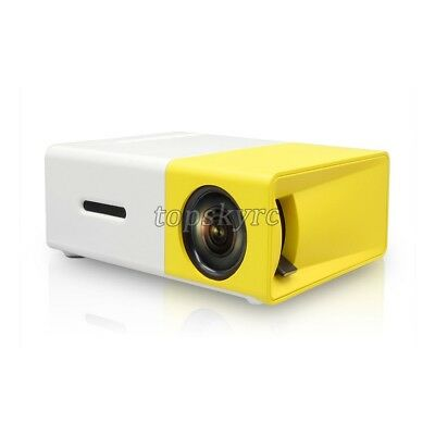 AU66.11 • Buy YG-300 Lumi Mini USB LED HDMI Projector Portable Media Player With Power Bundle