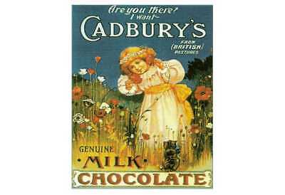 £9.99 • Buy Cadbury's Genuine Milk Chocolate Retro Vintage Style Metal Wall Plaque Sign