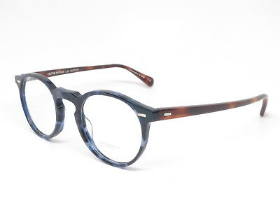18f0779e7d Oliver Peoples OV 5186 Gregory Peck 1569 Cobalt Tortoise Eyeglasses 47mm •  194.65