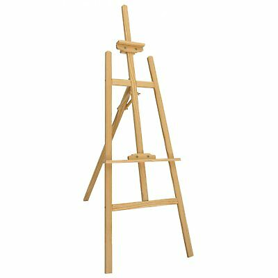 NEW! 5ft 1500mm Wooden Pine Tripod Studio Canvas Easel Art Stand • 14.99£