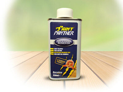 £7.50 • Buy BARRETTINE PAINT PANTHER PAINT VARNISH REMOVER STRIPPER 250ml