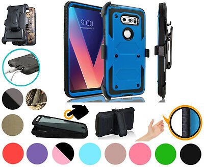 AU11.13 • Buy For LG V30S THINQ V30S+ V30 V30+ PLUS Case Screen Protector Cover Armor Holster