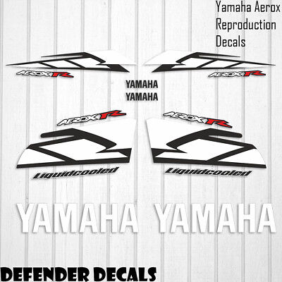 Yamaha Aerox R 2004 YELLOW Decals Stickers Graphics SET Scooter Reproduction • 29.99£
