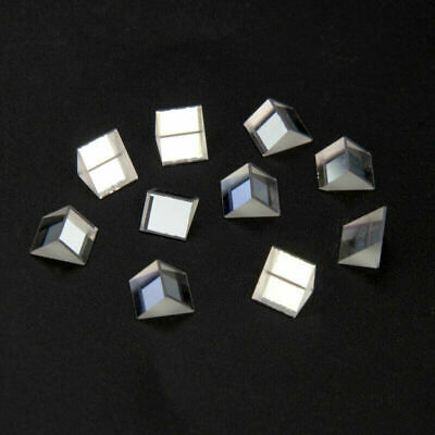 $9.99 • Buy 10PCS Optical Triangular Glass Right Angle Prism Optics Light Science Survey 90