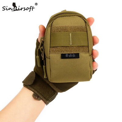 AU14.39 • Buy Men Nylon Molle Waist Small Hang Wear-resistant Package Travel Accessories Bag