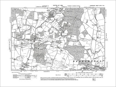 £17.99 • Buy Waterlooville, Stakes, Purbrook, Portsdown, Old Map Hampshire 1910: 76NW