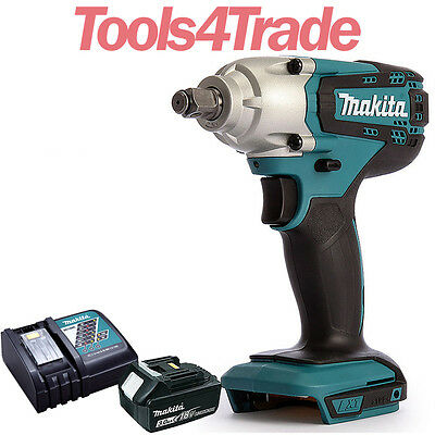 Makita DTW190Z 18V LXT Cordless Impact Wrench With 1 X 3.0Ah Battery & Charger • 149£
