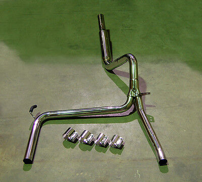 $314 • Buy Catback Stainless Exhaust + Bandclamps LS1 LT1 SS Z28 FOR Camaro Trans Am 3