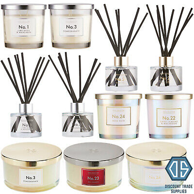 £9.79 • Buy Aldi Luxury Fragranced Candle, Reed Diffuser, Room Spray Or Gift Sets Free P&P