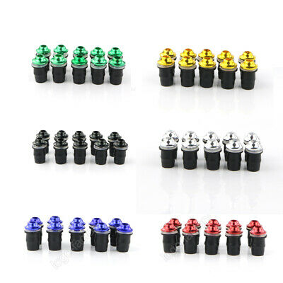 $4.94 • Buy Fit For M5 Universal Fairing Windscreen Screw Bolt Kit Winds Mount Nuts Well Nut