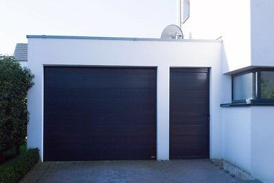 £491.98 • Buy SECTIONAL GARAGE DOOR 20mm INSULATED NOVOFERM CARDALE ISO20 Flush Large Ribb