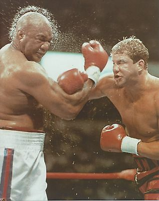 £2.90 • Buy TOMMY MORRISON Vs GEORGE FOREMAN 8X10 PHOTO BOXING PICTURE CLOSE UP ACTION