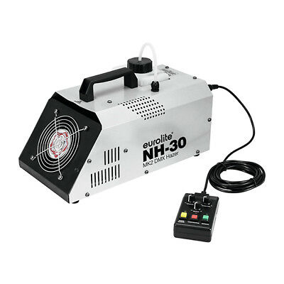 Eurolite NH-30 MK2 DMX Haze Machine Inc Timer / Wireless Remote Control Hazer • 135£