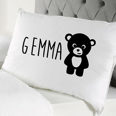 Unique Personalised Kids Pillow Case - Childrens Kids Present Gift Kids • 6.50£
