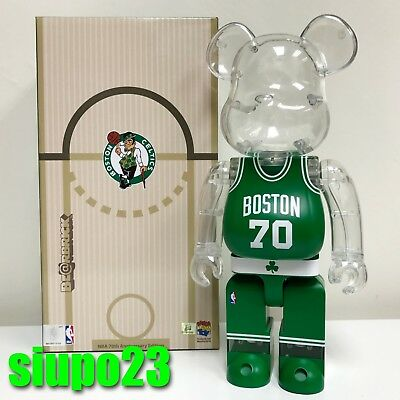 $199.99 • Buy Medicom 400% Bearbrick ~ Milk Magazine X NBA Boston Celtics Be@rbrick