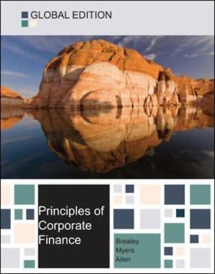£36.34 • Buy Principles Of Corporate Finance By Franklin Allen, Stewart C. Myers And Richard
