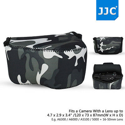 AU14.65 • Buy Camera Pouch Case Bag For Sony A6500 A6400 A6300 A6000 A5100 A5000 +16-50mm Lens