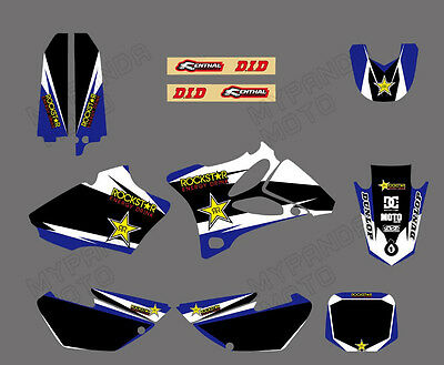 AU55.99 • Buy Mx Vinyl Full Team Graphics Kit Decals Stickers For Yamaha Yz85 2002-2013 2014