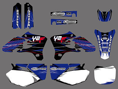 AU77.34 • Buy Motorcross Vinyl Stickers Graphics Decals Kit For Yamaha YZ250F YZ450F 2003-2005