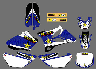 AU55.99 • Buy Motocross Vinyl Full Mx Graphics Kit Decals Stickers For Yamaha YZ85 2002-2014