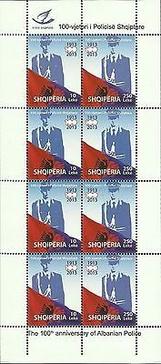 $ CDN26.71 • Buy Albania 2013. 100th Anniversary Of Albanian Police. Sheet MNH