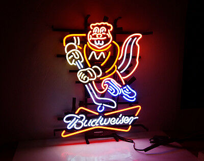 $ CDN286.74 • Buy ME683 BUD-minnesota Bud Weiser LED NEON Light Sign Golden Gophers Beer Bar Pub