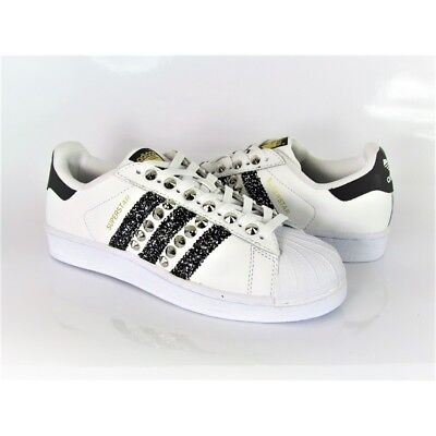sports shoes 5ba00 0ffd9 Adidas Superstar Custom Borchie E Glitter. Cikasinlove. • 149€