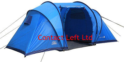 AU259.51 • Buy Highlander Cypress Tent - 4 To 6 Man Tents For Camping Or Festivals