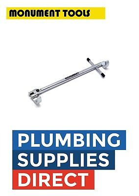£24.99 • Buy * Monument Adjustable Basin Wrench Spanner Sink Bath Tap Plumbers Tool MON345V