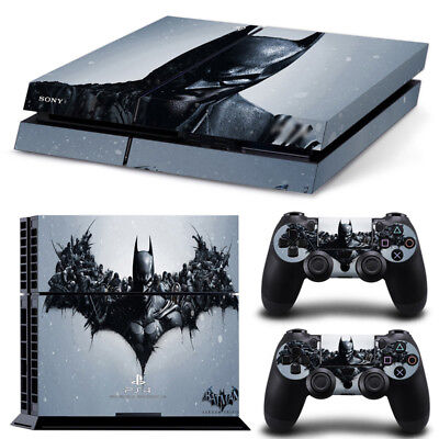 AU9.29 • Buy Batman Arkham Decal Skin Sticker For SONY PS4 Playstation 4 Console Controller