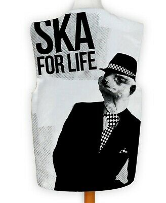 Novelty Waistcoat Ska For Life Meerkat Fun Fancy Dress Gift Funny Party Festival • 11.99£