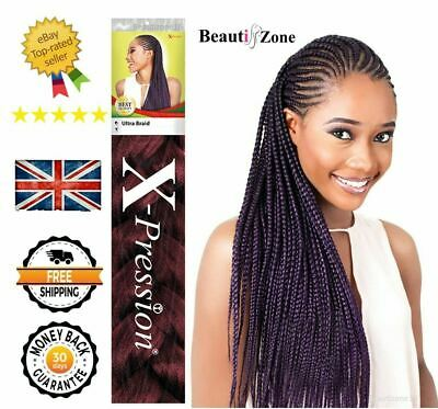 X-Pression Ultra Braid Twist Hair Extensions Xpression  Kanekalon  Original • 5.99£